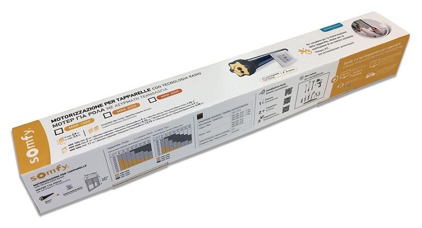 Schema Elettrico Per Motore Tapparelle : Kit motorizzazione per tapparelle elettriche nm shop somfy